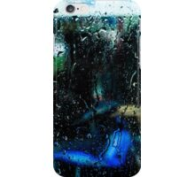 Red box blue motorcycle iPhone Case/Skin