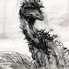 Emu Mug by WoolleyWorld