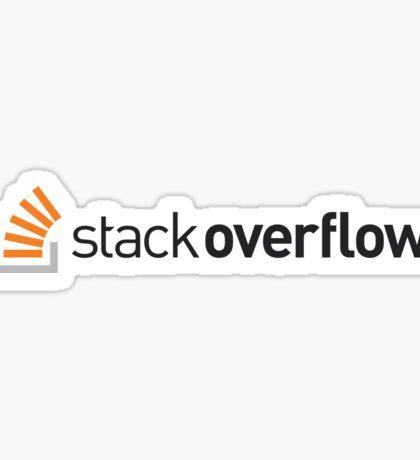 Stackoverflow Sticker