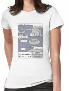 Servant vs Master Womens Fitted T-Shirt