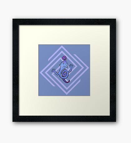 Master Eddy - Earthbound/Mother Framed Print