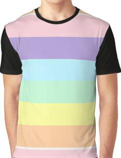 Pastel Rainbow Graphic T-Shirt