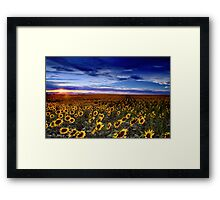 At Day's End Framed Print