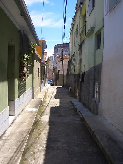 back street by Ruth  Kennedy
