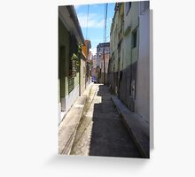 back street Greeting Card