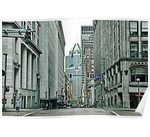Downtown Pittsburgh  Poster