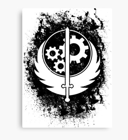 Brother hood of steel T-shirt Canvas Print