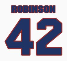 National baseball player Jackie Robinson jersey 42 by imsport