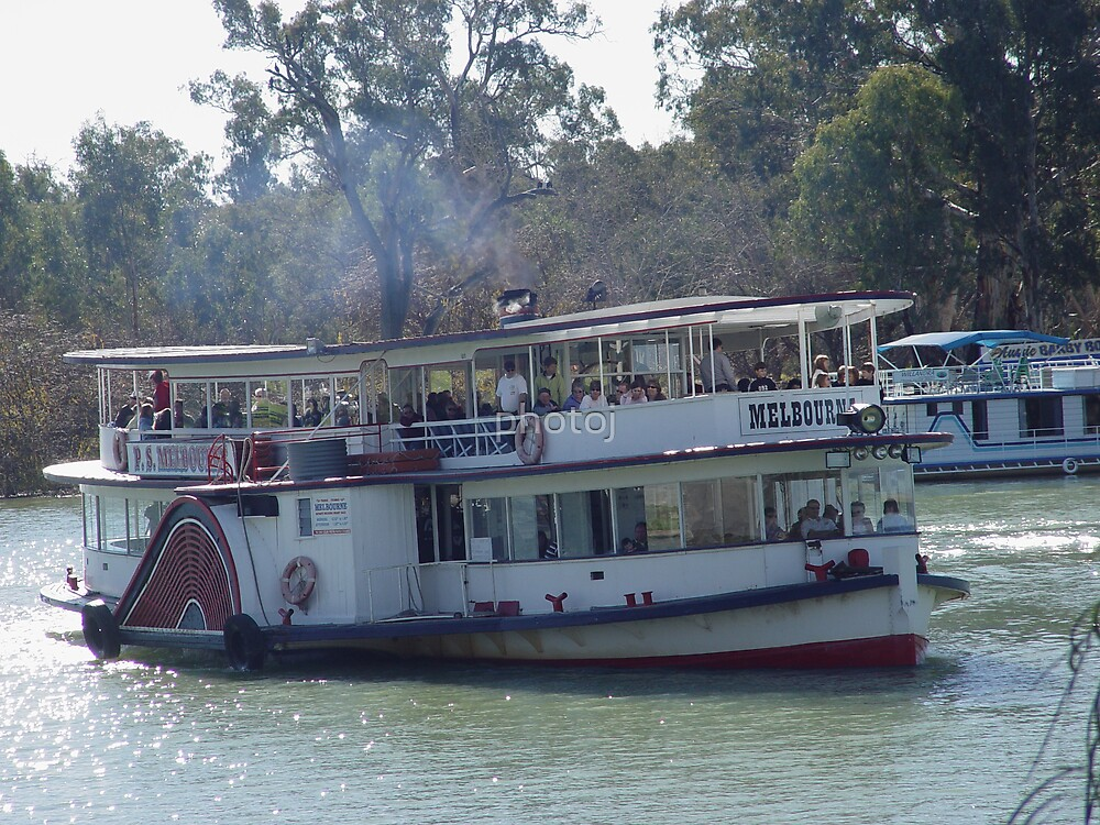 Steam Boat On The Murray by photoj