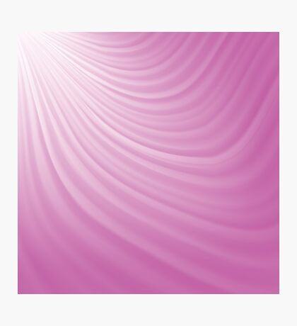 pink rays background Photographic Print