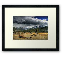 The Open Range Framed Print