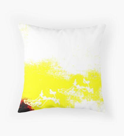 Zone Yellow Throw Pillow