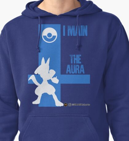 The Aura (White) Pullover Hoodie