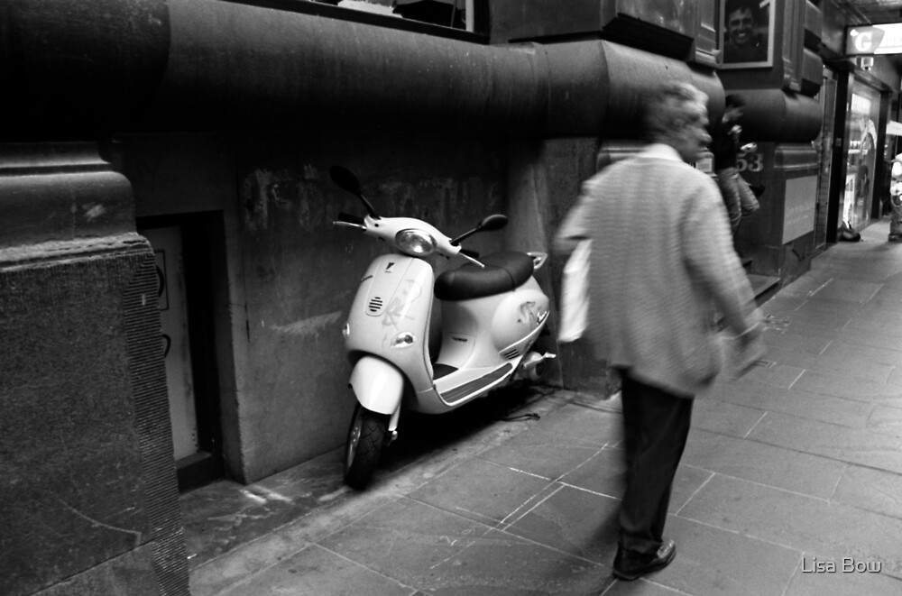 Flinders Lane by Lisa Bow