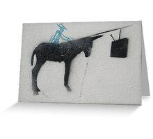 Italian graffiti Greeting Card
