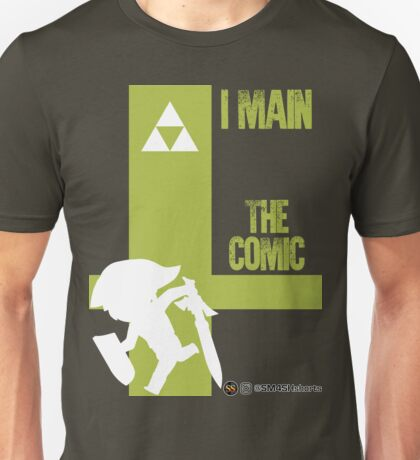The Comic (White) Unisex T-Shirt