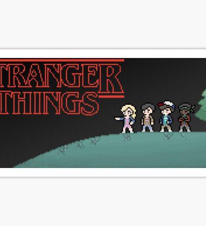 8-Bit Stranger 1 Sticker