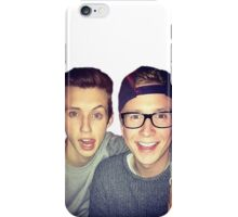Tyler Oakley and Troye Sivan - Troyler iPhone Case/Skin