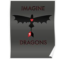 Imagine Toothless Poster