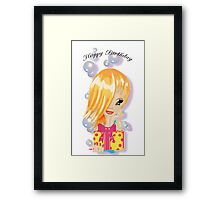 Sugar Birthday Framed Print