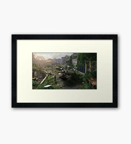 Desertion Framed Print