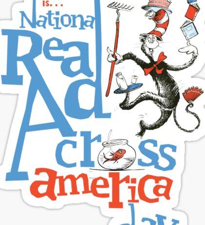 READING ACROSS AMERICA I Sticker