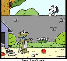 Dog versus Scouts by Hagen