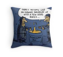 Remainder Bin Throw Pillow
