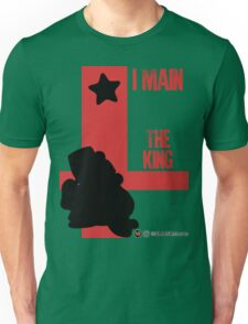 The King (Black) Unisex T-Shirt