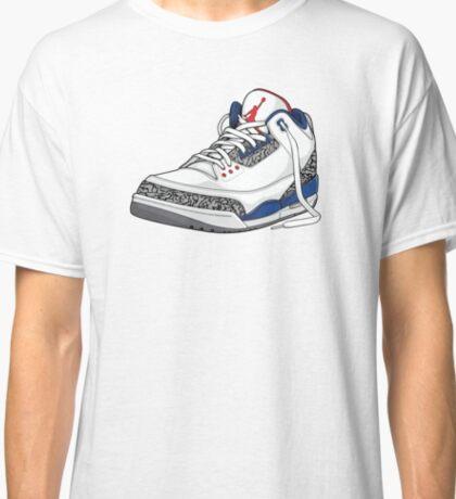"""Air Jordan 3 (III) """"TRUE BLUE"""" Classic T-Shirt"""