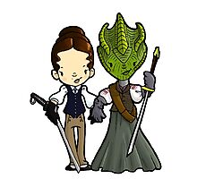 Vastra and Jenny forever Photographic Print