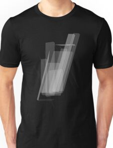 Geometric Black And White Unique Graphic Art Shirts Design Unisex T-Shirt