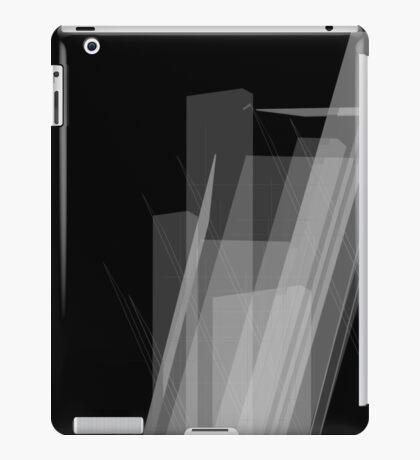 Geometric Black And White Unique Graphic Art Shirts Design iPad Case/Skin