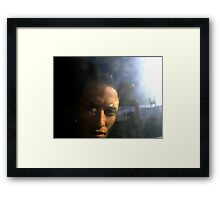 Materialized Framed Print