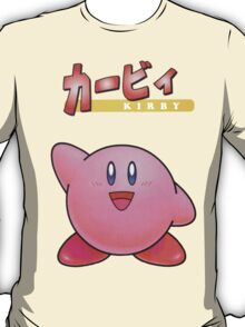 Super Smash Bros 64 Japan Kirby T-Shirt