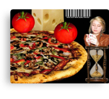 ☝ ☞ WE ARE BEING TRACKED..COULD THIS BE THE FUTURE - ORDERING PIZZA?.. TECHNOLOGY- AND THEY CALL IT PROGRESS ..U -B-THE JUDGE..SEE VIDEO HUGS..☝ ☞ Canvas Print