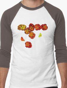 Poppy delight  Men's Baseball ¾ T-Shirt