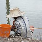 fishing in thailand by Abby Tropea