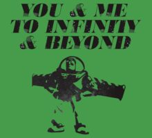 You & Me To Infinity & Beyond Kids Clothes