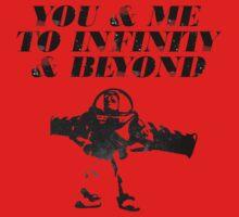 You & Me To Infinity & Beyond Baby Tee