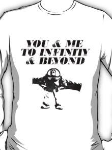 You & Me To Infinity & Beyond T-Shirt