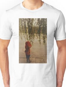 Weeping Willow and Child Unisex T-Shirt