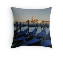 TAXIS OF VENICE Throw Pillow