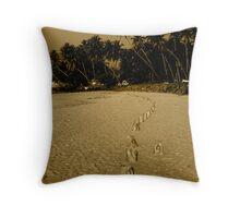 Tsunami - one year anniversary Throw Pillow