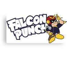 Falcon Punch Canvas Print