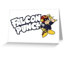 Falcon Punch Greeting Card