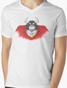 Taurus Bulba Mens V-Neck T-Shirt