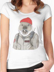 Bill-Hog Women's Fitted Scoop T-Shirt