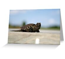 Little Spike Greeting Card