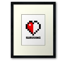 Gaming Heart Framed Print